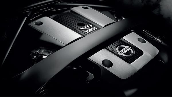 370Z Coupe 3.7 litre V6 engine - power and torque to spare