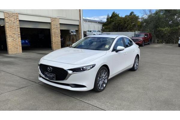 2021 Mazda 3 BP G20 Evolve Sedan Image 3