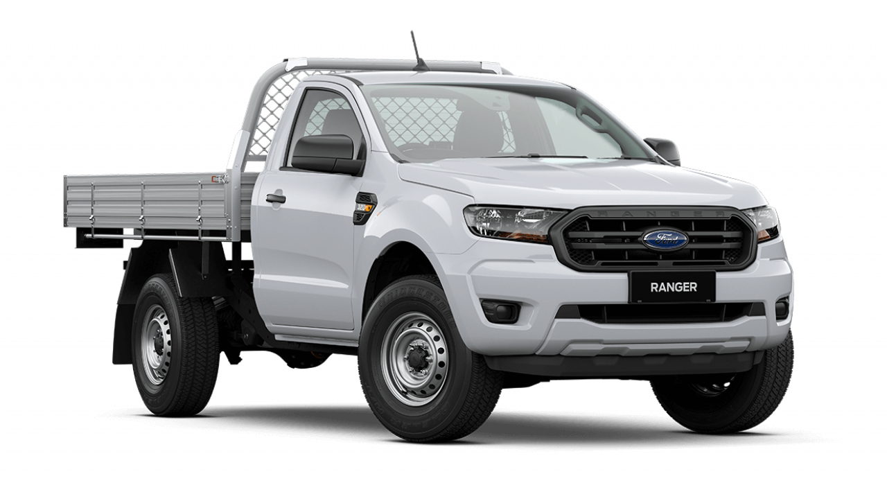2021 MY21.25 Ford Ranger PX MkIII XL Single Cab Chassis Cab chassis Image 1