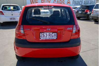 2010 Hyundai Getz TB MY09 S Hatchback Image 4