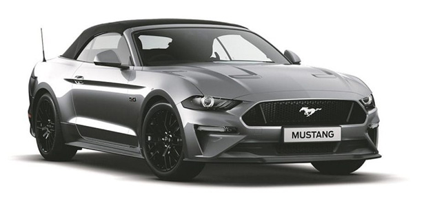2018 Ford Mustang FN GT Convertible Convertible