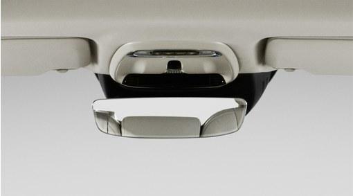 Interior rear view mirror with autodim