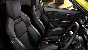 Swift Sport Interior Features