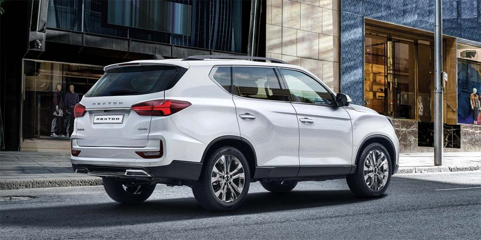 Rexton A ride tailored to you