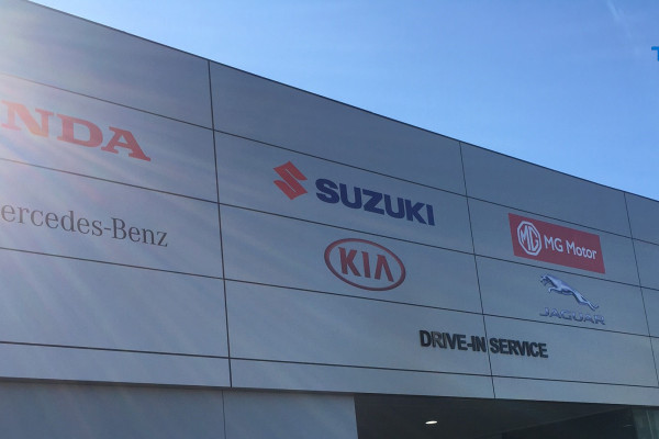 Changes to our new car showroom locations, used car sales and service department locations