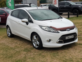 2012 Ford Fiesta WT LX Sedan Image 3