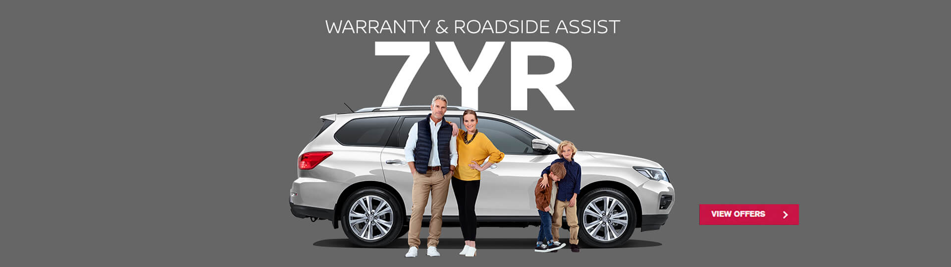 Nissan Pathfinder - 7 Year Warranty and Roadside Assist on selected models