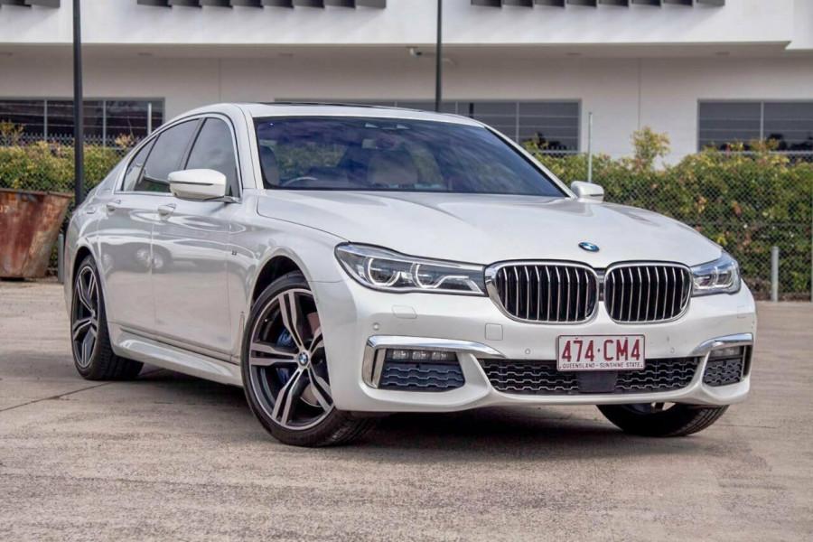 2017 MY18 BMW 730d G11 Sedan
