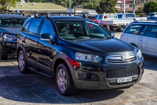 2012 Holden Captiva CG Series II 7 SX Suv Image 5