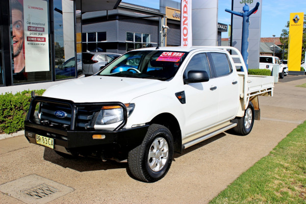 2013 Ford Ranger PX XL Cab chassis - dual cab
