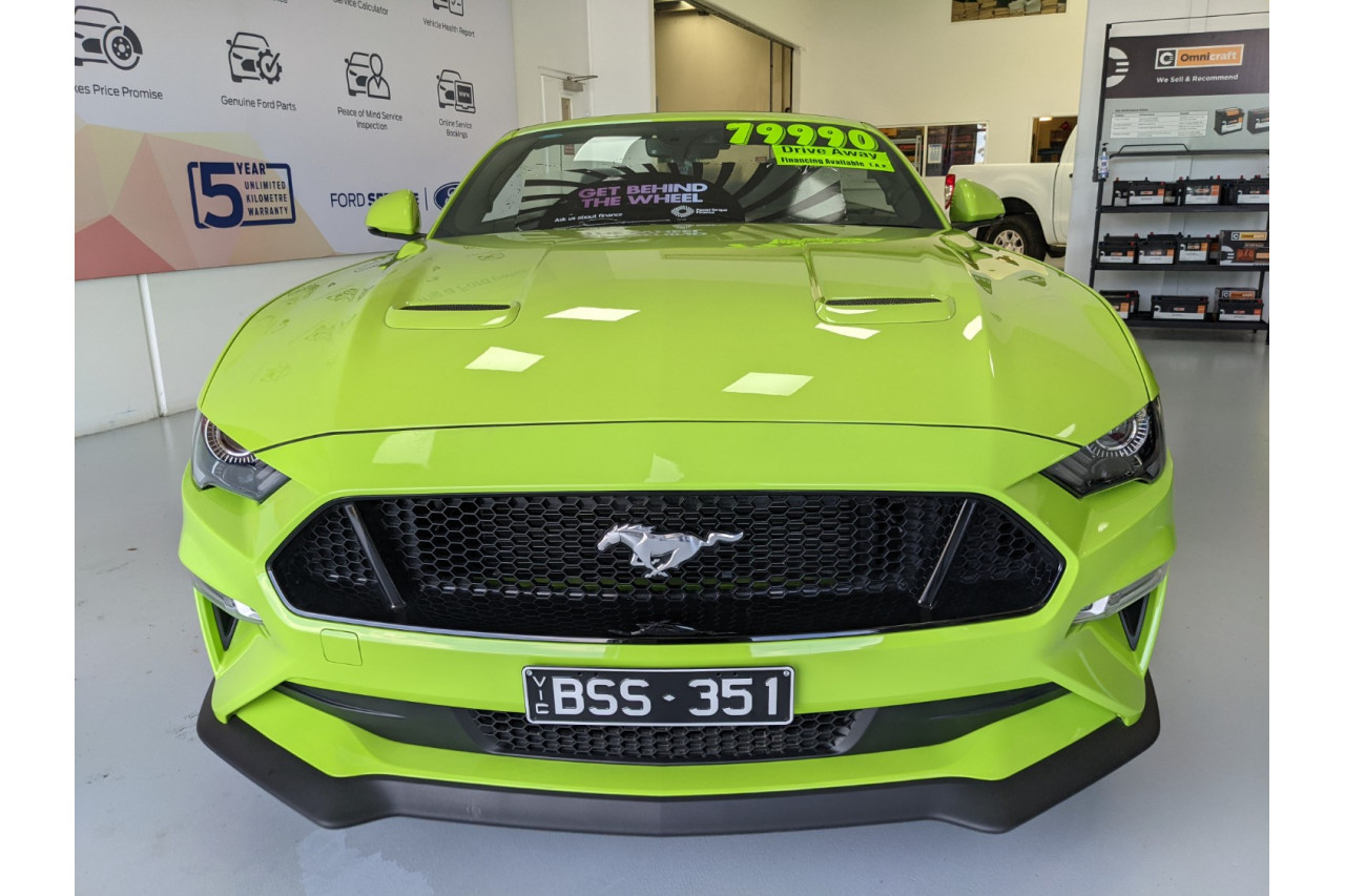2020 Ford Mustang FN 2020MY GT Convertible