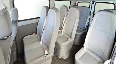 V80 Bus Interior Comfort