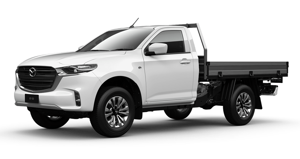 2021 Mazda BT-50 Cab chassis