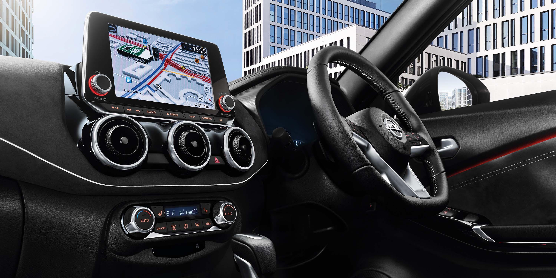 Driver-focused Interior Design Image