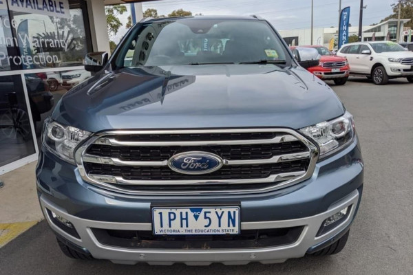 2019 Ford Everest UA II 2019.00MY TITANIUM Suv Image 3