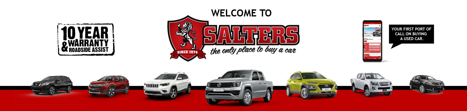 Salters The only place to buy