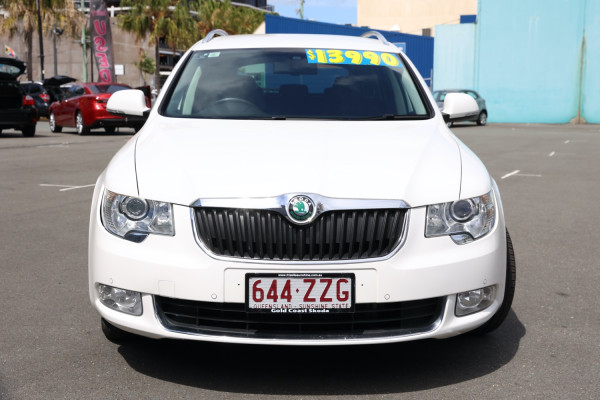 2011 Skoda Superb 3T MY11 Elegance Wagon