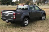 2017 Isuzu UTE D-MAX 4x4 LS-M Crew Cab Ute Utility