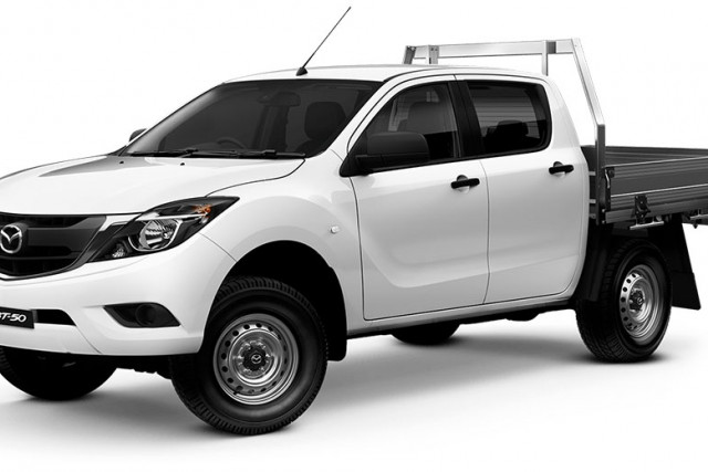 2018 Mazda BT-50 UR 4x4 3.2L Dual Cab Chassis XT Other