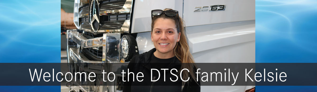 WELCOME KELSIE - TRUCK DELIVERY DRIVER + DETAILER - TO THE TEAM