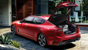 Stinger The Family Sports Sedan With 5 Doors