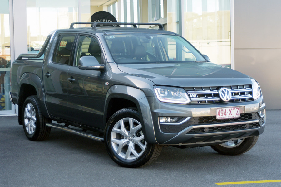 2017 MY18 Volkswagen Amarok 2H MY18 TDI550 Utility Mobile Image 1