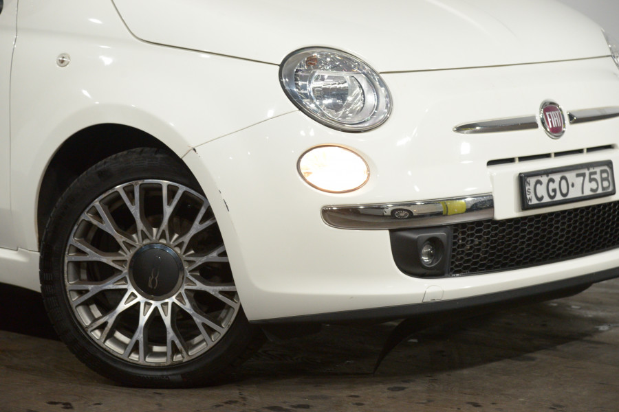 2012 Fiat 500 Twin Air Lounge