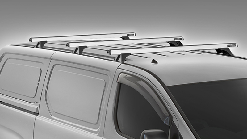Commercial roof racks.