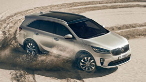 Sorento Giving Adventure a Powerful Boost