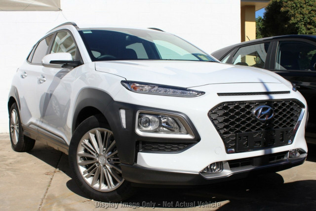 2017 MY18 Hyundai Kona OS MY18 Elite D-CT AWD Wagon