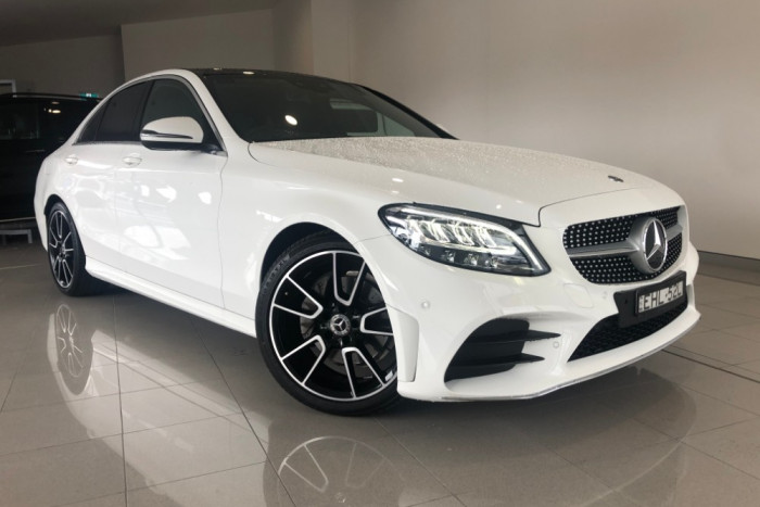 2019 Mercedes-Benz C Class W205 809MY C200 Sedan