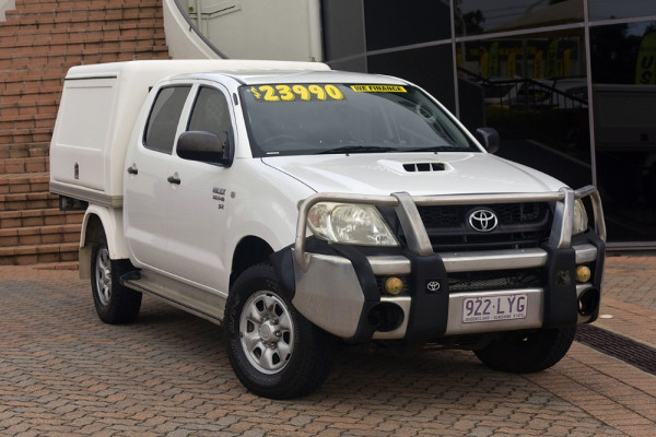 2009 Toyota HiLux KUN26R MY09 SR Cab chassis