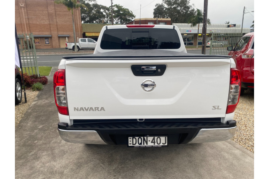 2018 Nissan Navara NAVDP4YA3SL SL 4X4 D/Cab Auto Utility crew cab