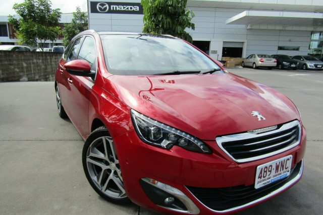 2016 MY17 Peugeot 308 T9 MY17 Allure Touring Wagon