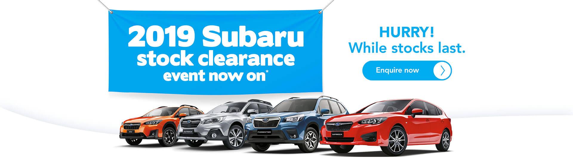 Bathurst Automotive Group subaru offers