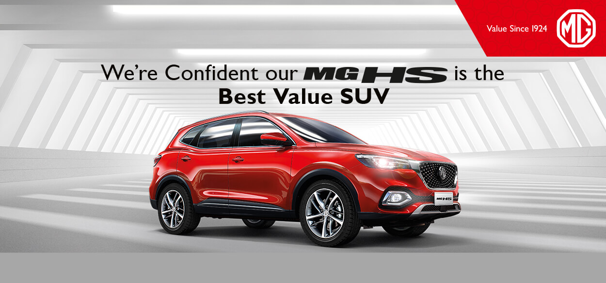 MG HS Best Value Test Drive Offer