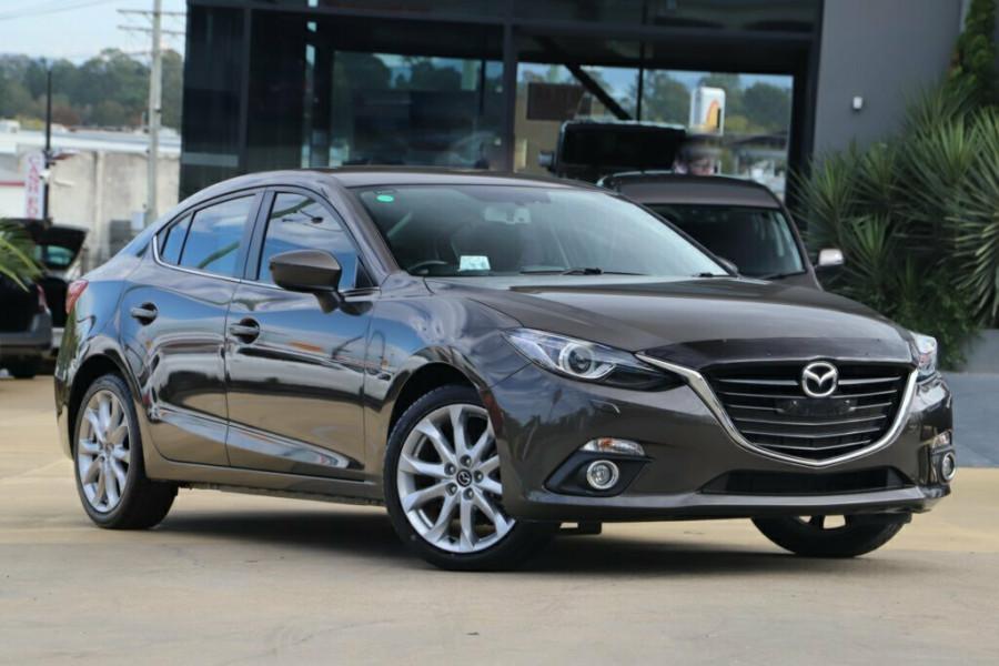 2014 Mazda 3 BM5236 SP25 SKYACTIV-MT GT Sedan