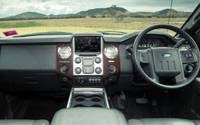 F-Truck 250 Lariat Interior Features