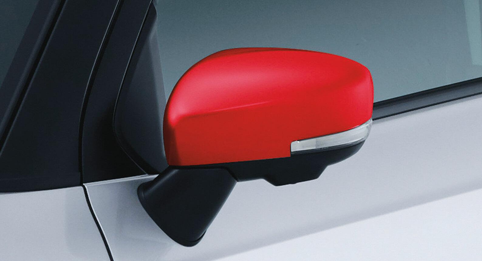 Ignis - Door Mirror Cover, Red
