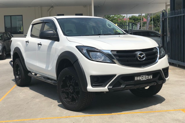 2019 Mazda BT-50 UR 4x4 3.2L Dual Cab Chassis XT Cab chassis Image 1