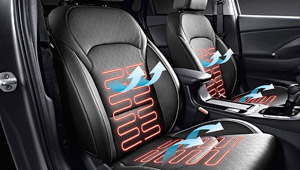 Reinvented i30 Front Seats Warming and Cooling Air Ventilation