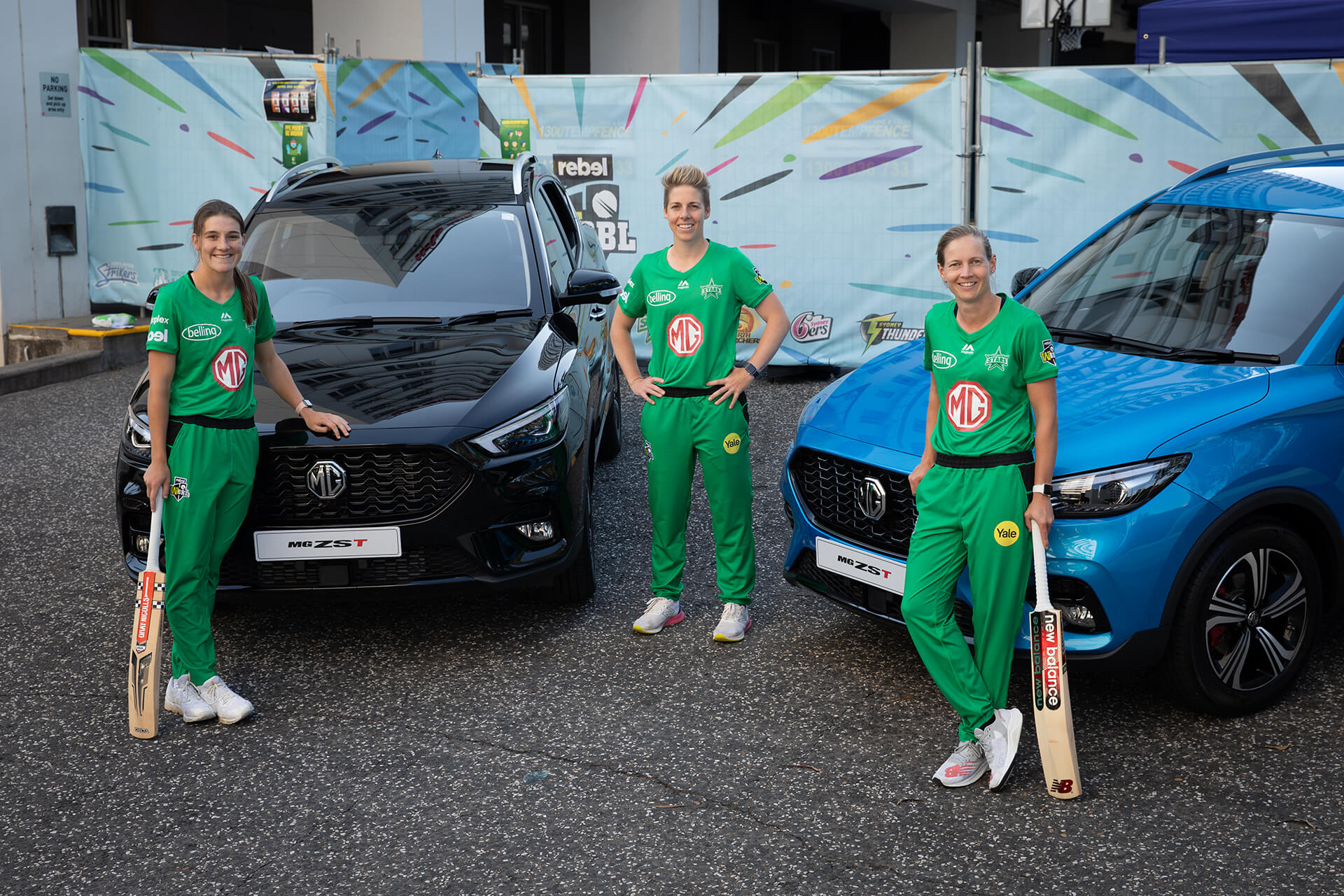 The Melbourne Stars will drive into the next three Big Bash seasons with the support of Official Vehicle Partner MG Motor.