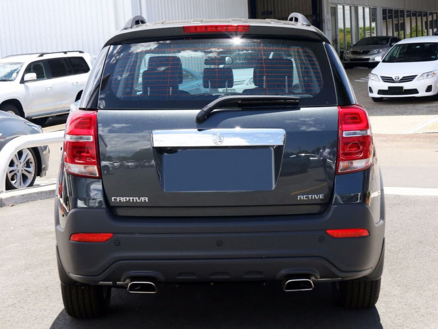 2017 Holden Captiva CG Active 7 Seats Wagon