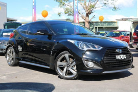 Hyundai Veloster Model description. FS4  II SR Turbo COU 4dr D-CT 7sp 1.6T