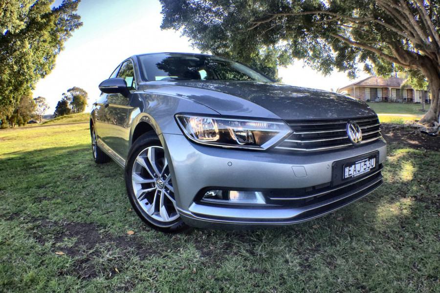 2018 MY19 Volkswagen Passat Sedan B8 132TSI Sedan Image 1