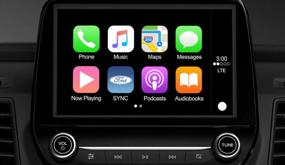 Transit Custom Apple CarPlay & Android Auto