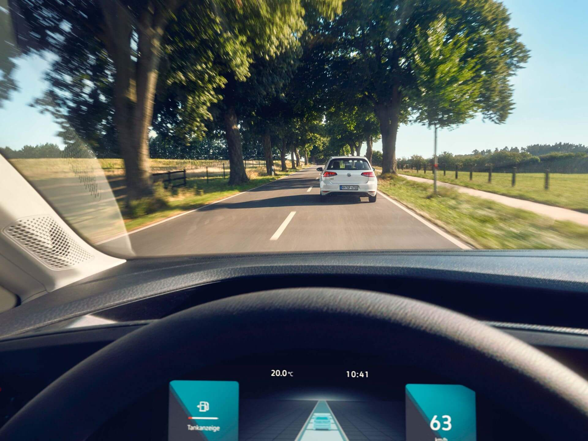 Stay safe on the road Adaptive Cruise Control Image