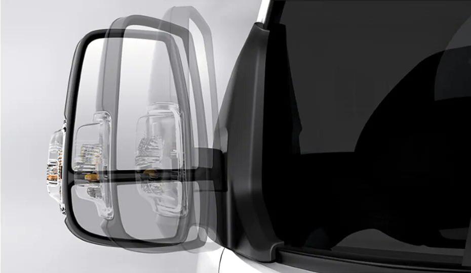 Transit Bus Power & Heated Exterior Mirrors