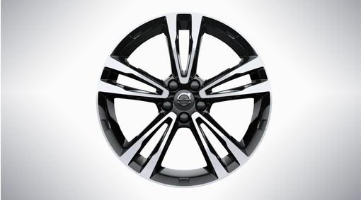 """19"""" 5-Double Spoke Black Diamond Cut Alloy Wheel - 224"""