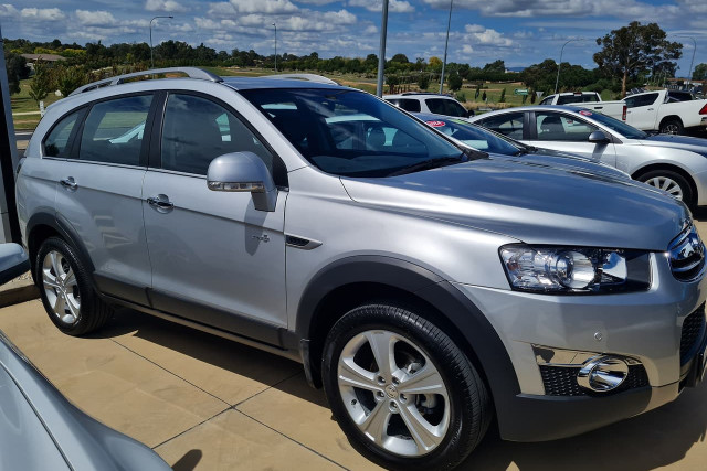 2013 Holden Captiva CG Turbo 7 LX Suv Image 2